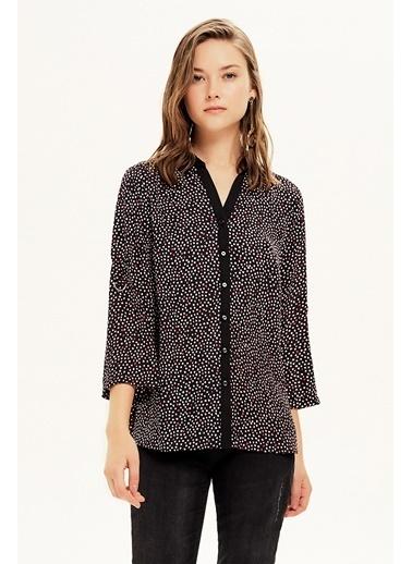 NaraMaxx Kol Detaylı Bluz Renksiz